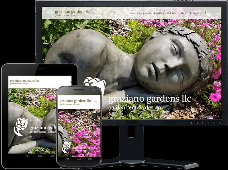 Web Design Wisconsin - Nerd Free Marketing Redesign this website for Graziano Gardens in Waupaca WI