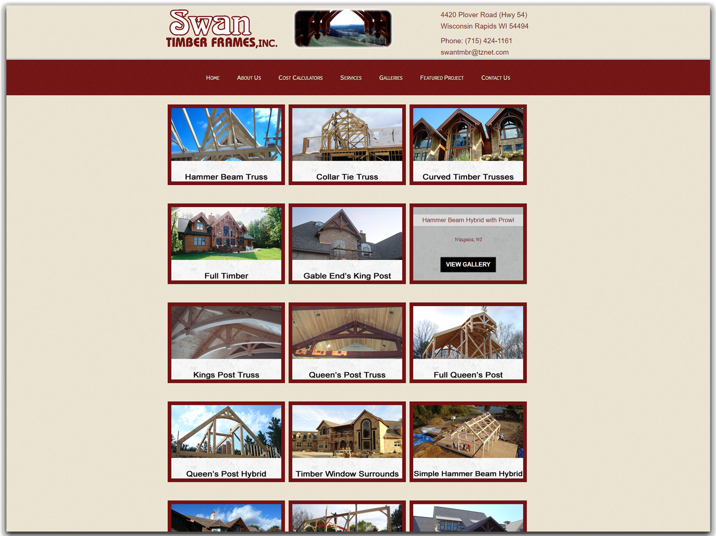swan timber frames gallery