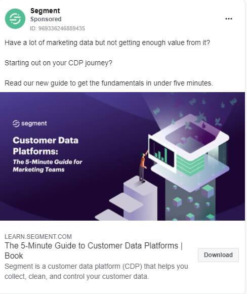 long facebook ad description
