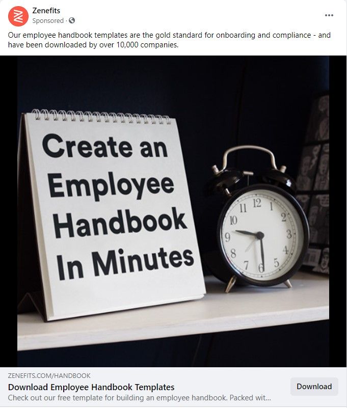 short catchy headline text facebook ads